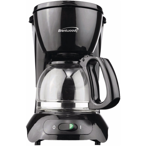 Brentwood TS-213BK 4 Cup Coffee Maker, Black