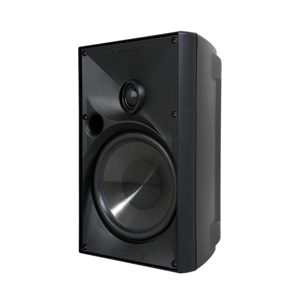 """SpeakerCraft - Outdoor Elements 6-1/2"""" Passive 2-Way Speaker (Each) - Black"""