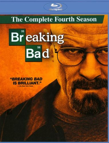 Breaking Bad: The Complete Fourth Season [3 Discs] [Blu-ray] 5359291