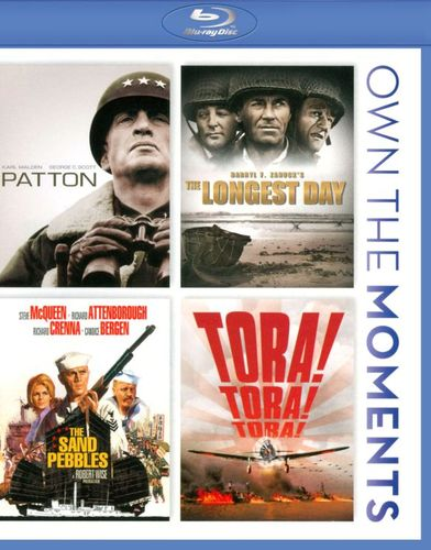 Patton/The Longest Day/The Sand Pebbles/Tora! Tora! Tora! [4 Discs] [Blu-ray] 5360776
