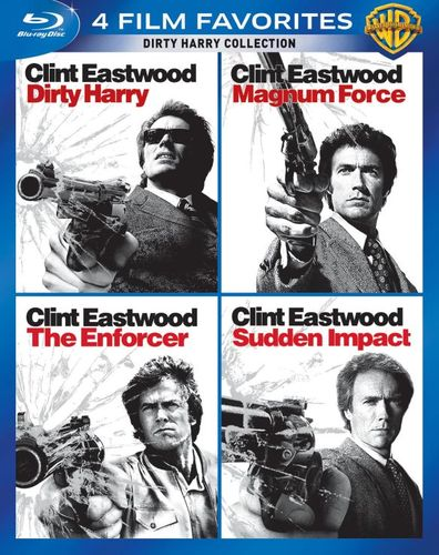 Dirty Harry Collection: 4 Film Favorites [4 Discs] [Blu-ray] 5362007