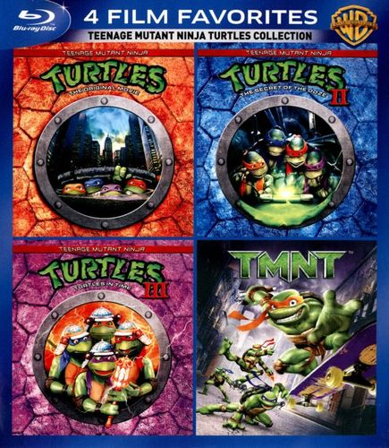 Teenage Mutant Ninja Turtles Collection: 4 Film Favorites [4 Discs] [Blu-ray] 5362034