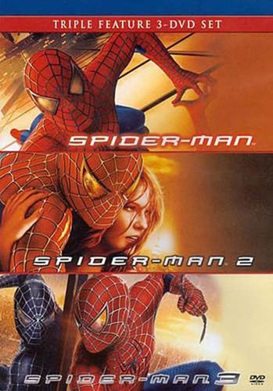 Spider-Man/Spider-Man 2/Spider-Man 3 [3 Discs] [DVD] 5366600