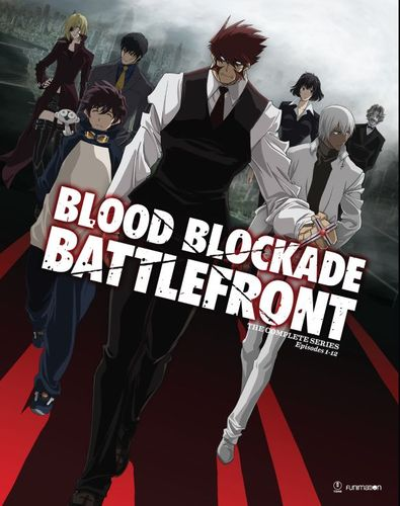 Blood Blockade Battlefront: The Complete Series [Blu-ray/DVD] 5368405