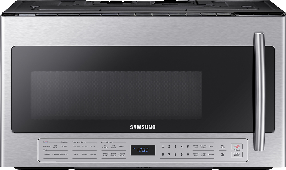 Samsung 2.1 Cu. Ft. Over-the-Range Microwave with Sensor Cooking Stainless steel ME21K6000AS