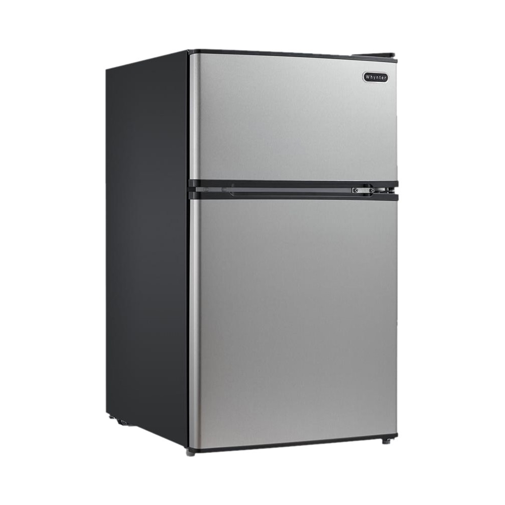 Whynter 3.4 Cu. Ft. Compact Refrigerator Stainless steel MRF-340DS