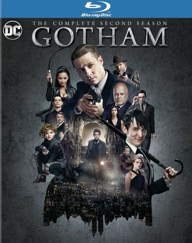 Gotham: The Complete Second Season [Includes Digital Copy] [UltraViolet] [Blu-ray] [4 Discs] 5386737