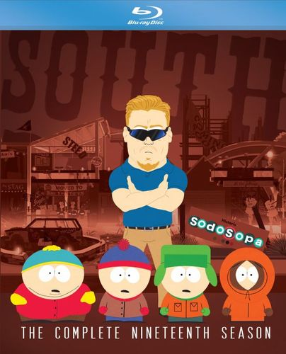 South Park: The Complete Nineteenth Season [Blu-ray] [3 Discs] 5387006