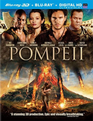 Pompeii [2 Discs] [Includes Digital Copy] [UltraViolet] [3D] [Blu-ray] [Blu-ray/Blu-ray 3D] [2014] 5392112
