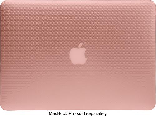 "Incase Designs - Hardshell Laptop Upper Shield Case for 15"" Apple® MacBook® Pro Retina - Rose quartz"