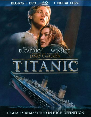 Titanic [4 Discs] [Includes Digital Copy] [Blu-ray/DVD] [1997] 5401018