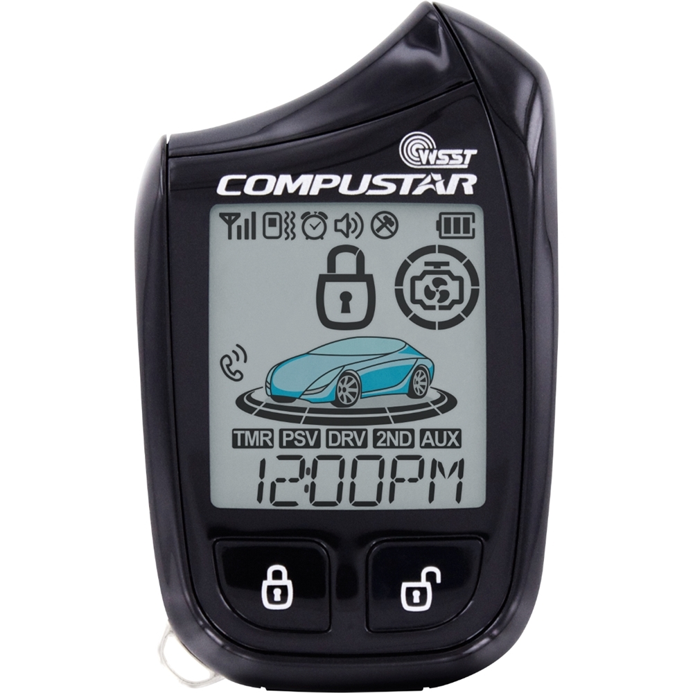 Compustar Replacement 2 Way Remote For Start And Starter Product Image