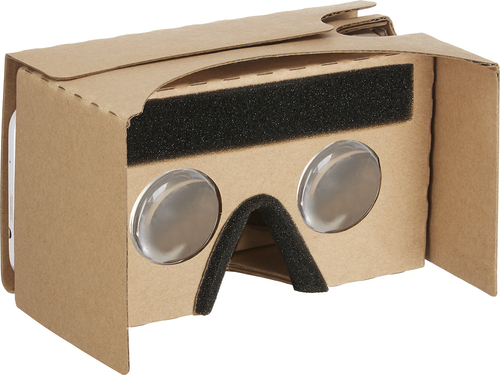 Insignia™ - Virtual Reality Viewer - brown 5403414