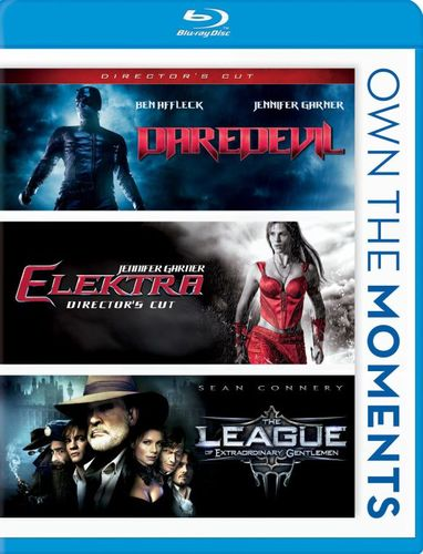 Daredevil/Elektra/The League of Extraordinary Gentlemen [Blu-ray] 5407055