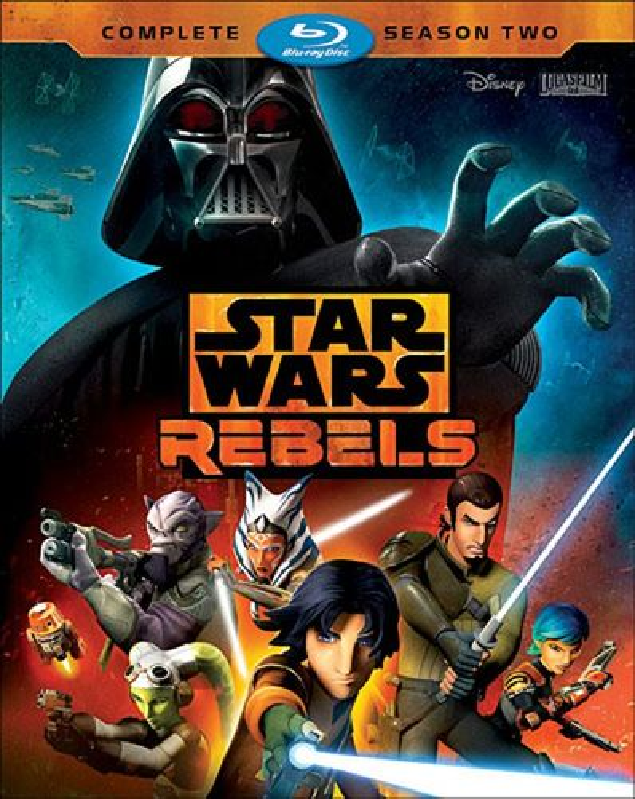 Star Wars Rebels: The Complete Season 2 [Blu-ray] [3 Discs] 5407200