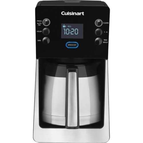 Cuisinart - Perfec Temp 12-Cup Thermal Coffeemaker DCC-2900 - Black, Stainless Steel DCC-2900