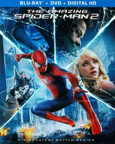 The Amazing Spider-Man 2 [3 Discs] [Includes Digital Copy] [Ultraviolet] [Blu-ray/DVD] [2014] 5413064