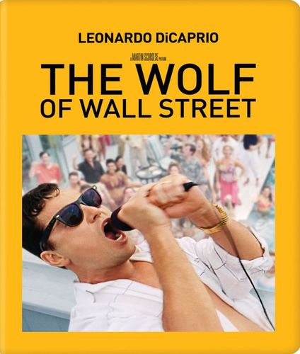 The Wolf of Wall Street [SteelBook] [Includes Digital Copy] [Blu-ray/DVD] [2013] 5414141