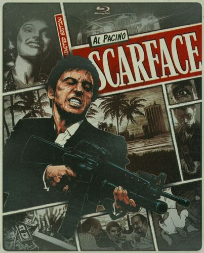 Scarface [Includes Digital Copy] [UltraViolet] [Blu-ray/DVD] [2 Discs] [1983] 5419077