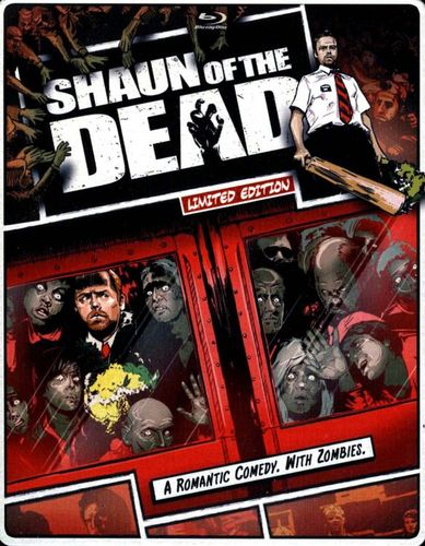 Shaun of the Dead [SteelBook] [Includes Digital Copy] [UltraViolet] [Blu-ray/DVD] [2 Discs] [2004] 5419191