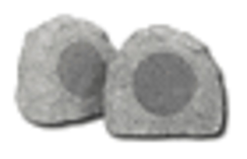 HomeTech - Simulated Rock Outdoor Speakers (granite gray)