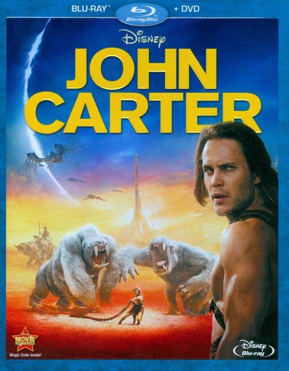 John Carter [2 Discs] [Blu-ray/DVD] [2012] 5422066