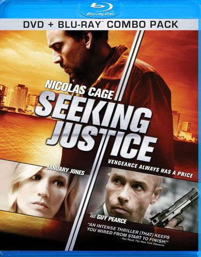 Seeking Justice [2 Discs] [Blu-ray/DVD] [2011] 5423241
