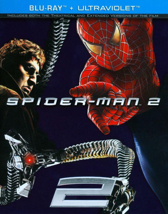 Spider-Man 2 [Includes Digital Copy] [UltraViolet] [Blu-ray] [2004] 5424073