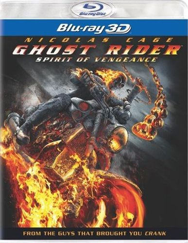 Ghost Rider: Spirit of Vengeance [Includes Digital Copy] [UltraViolet] [3D] [Blu-ray] [Blu-ray/Blu-ray 3D] [2012] 5424107