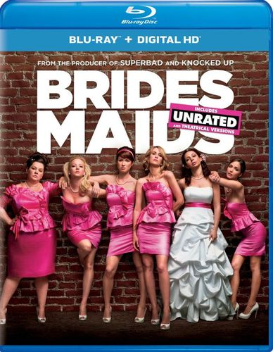 Bridesmaids [Includes Digital Copy] [UltraViolet] [With Pitch Perfect 2 Movie Cash] [Blu-ray] [2011] 5424174