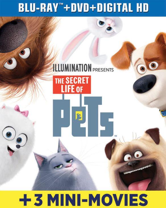 The Secret Life of Pets [Includes Digital Copy] [Blu-ray/DVD] [2016] 5431207