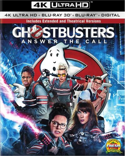 Ghostbusters: Answer the Call [Includes Digital Copy] [4K Ultra HD Blu-ray/Blu-ray] [3D] [4K Ultra HD Blu-ray/Blu-ray/Blu-ray 3D] [2016] 5437701