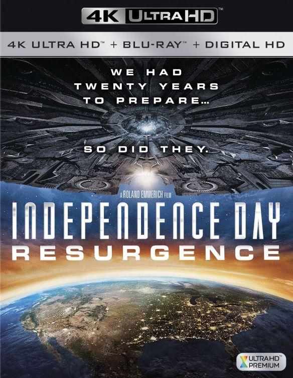 Independence Day: Resurgence [4K Ultra HD Blu-ray/Blu-ray] [2016] 5440107