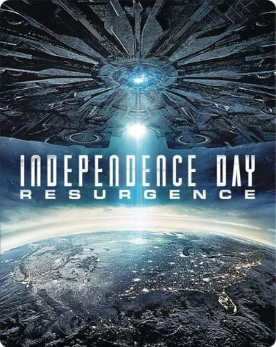 Independence Day: Resurgence [Blu-ray/DVD] [SteelBook] [Only