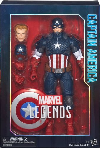 Hasbro - Marvel Legends 12-inch Captain America 5441002