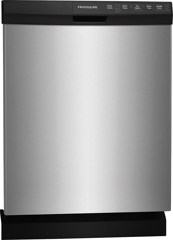 "Frigidaire FFBD2412SS 24"" Tall Tub Built-In Dishwasher Stainless"