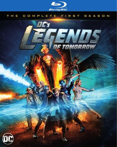 DC's Legends of Tomorrow: The Complete First Season [Blu-ray] 5445300