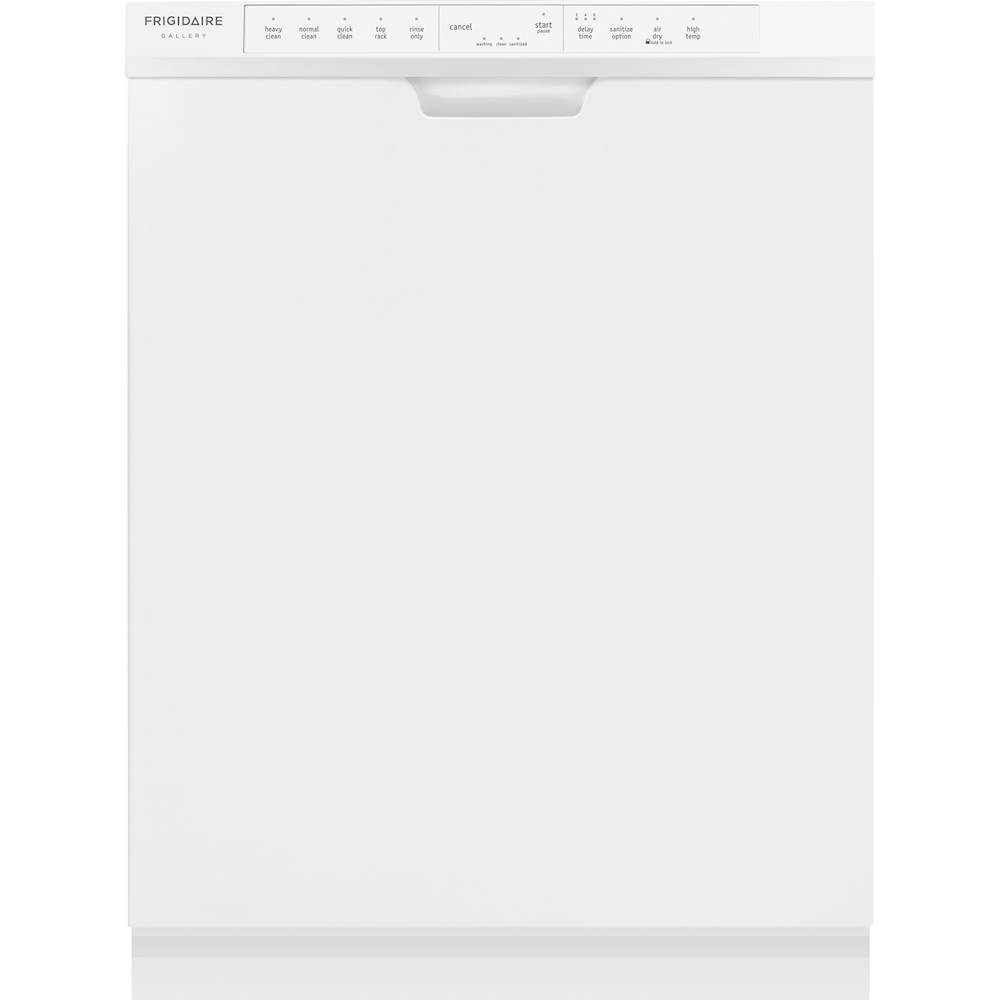 "Frigidaire Gallery 24"" Top Control Tall Tub Built-In Dishwasher White FGCD2444SW"