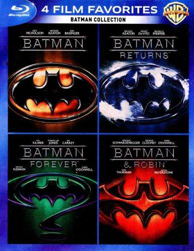 Batman Collection: 4 Film Favorites [4 Discs] [Blu-ray]