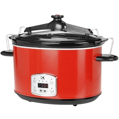 Kalorik 8-Quart Slow Cooker Red SC 41175 R