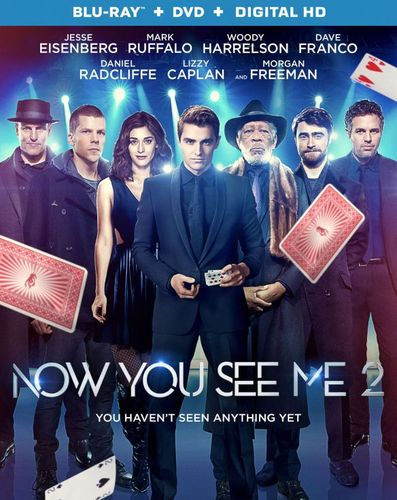 Now You See Me 2 [Includes Digital Copy] [Blu-ray/DVD] [2016] 5446800