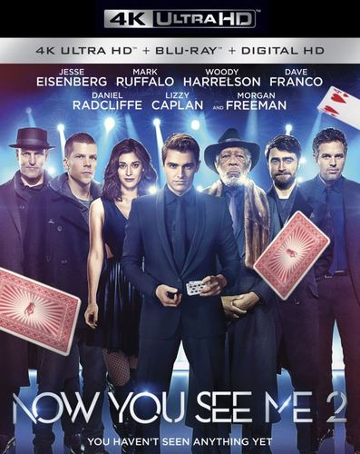 Now You See Me 2 [Includes Digital Copy] [4K Ultra HD Blu-ray/Blu-ray] [2016] 5446900