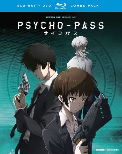 Psycho-Pass: Season One [Blu-ray/DVD] [8 Discs] 5448507