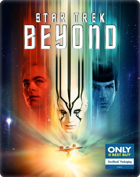 Star Trek Beyond [Includes Digital Copy] [Blu-ray/DVD] [SteelBook] [Only @ Best Buy] [2016] 5450018