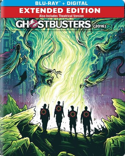 Ghostbusters: Answer the Call [Blu-ray] [Includes Digital Copy] [SteelBook] [Only @ Best Buy] [2016] 5450506