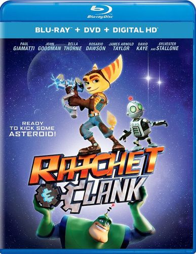 Ratchet and Clank [Includes Digital Copy] [UltraViolet] [Blu-ray/DVD] [2 Discs] [2016] 5450640