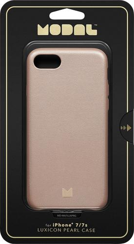 Modal MD-MA7LUXPRG - Back cover for cell phone - pearl rose gold - for Apple iPhone 7