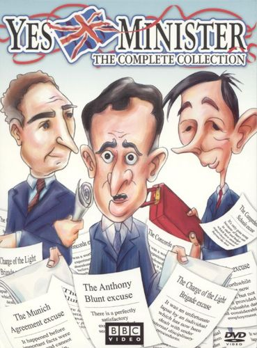 Yes Minister: The Complete Collection [4 Discs] [DVD] 5455991