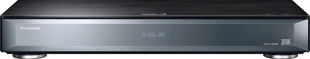 Panasonic - 4K Ultra HD Wi-Fi Built-In Blu-ray Player Black DMP-UB900