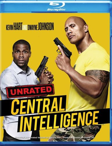 Central Intelligence [Unrated] [Blu-ray] [2016] 5462001